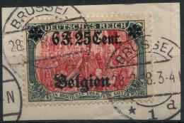 Occupation Belge - N° 25 (o) Sur Fragment - TB [ref 13] - Guerre 14-18
