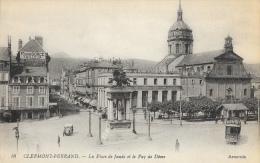 Clermont-Ferrand - La Place De Jaude Et Le Puy De Dôme - Tramway - Edition LL - Carte Arvernia N°16 Non Circulée - Clermont Ferrand