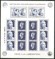 Bloc Spécial  Libération 1945  émis Au Salon Automne Paris 2015  Il Est épuisé - Ongebruikt