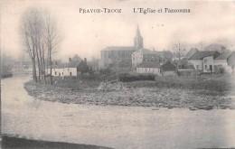 ¤¤  -    BELGIQUE   -   PRAYON  -  TROOZ   -  L'Eglise Et Panorama    -  ¤ - Trooz