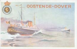 Carte Postale Paquebot 17 - 10 Cent. Sur 15 C Non Utilisée  --  XX116 - Stamped Stationery