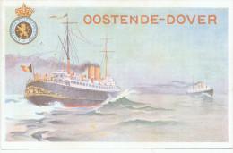 Carte Postale Paquebot 19 - 10 Cent. Sur 30 C Non Utilisée  --  XX117 - Stamped Stationery
