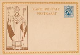 Carte Illustrée Cardinal Mercier 50 C - Non Utilisée  --  XX120 - Interi Postali