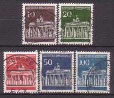 BRD , 1966 , Mi.Nr. 506 - 510 O - Gebraucht
