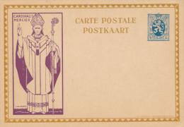 Carte Illustrée Cardinal Mercier 50 C - Non Utilisée  --  XX122 - Stamped Stationery