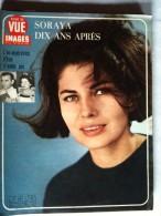 POINT DE VUE IMAGES DU MONDE N° 1034 Du 5 Avril 1968 (  SORAYA Dix Ans Après ) - People