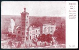 1317 - Sin Gastos De Envío - Postal Antigua - Toledo Estación - Toledo