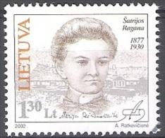 Lietuva 2002 Michel 784 O Cote (2013) 1.20 Euro Satrijos Ragana Cachet Rond - Lituanie