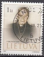 Lietuva 2003 Michel 827 O Cote (2013) 1.35 Euro Cardinal Vincentas Sladkevicius Cachet Rond - Lituanie