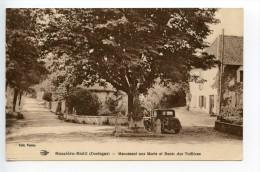 Bussière Badil Monument Aux Morts Et Route DesTuilières - Autres Communes