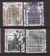 BRD , 1987 , Mi.Nr. 1339 A - 1342 A O - BRD