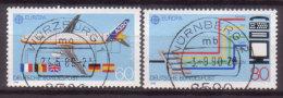 BRD , 1988 , Mi.Nr. 1367 / 1368 O Cept - [7] République Fédérale