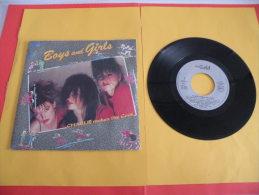 Charlie Makes The Cook, Boys And Girls - 1987 - Voir Photos,disque Vinyle - 2 € Le Vinyle 45 T - Dance, Techno & House
