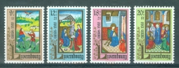 LUXEMBOURG - Mi Nr 1210/1213 - Caritas - MNH** - Cote 7,50 € - Luxembourg