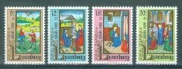 LUXEMBOURG - Mi Nr 1210/1213 - Caritas - MNH** - Cote 7,50 € - Luxemburg