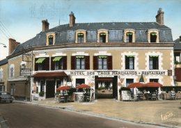 V66 Cpsm 41 Cour Cheverny - L' Hôtel Des Trois Marchands - Cheverny