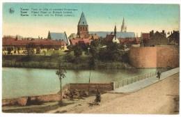 Ieper  - Rijssel Poort En Britisch Kerkhof ( 2 Scans) - Ieper