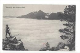 13800 -  Suchet Et Mer De Brouillard Le Skieur - VD Vaud