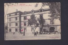 Vente Immediate Perpignan Caserne St Jacques 24è Colonial Et Place Du Puig ( Animée J. Fau En L'état) - Perpignan