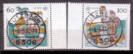 BRD , 1992 , Mi.Nr. 1608 / 1609 O Cept - Gebraucht