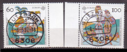 BRD , 1992 , Mi.Nr. 1608 / 1609 O Cept - [7] République Fédérale