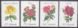 AUSTRALIA, 1982 ROSES 4 MNH - Neufs