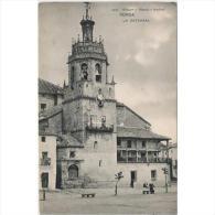 MLGTP1510CPA-LFTP5417TARI.Tarjeta Postal De Ronda,Malaga.CATEDRAL DE RONDA.viejo Sentado En El Banco - Iglesias Y Catedrales