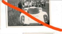 52 TARGA FLORIO 1968 MITTER - SCARFIOTTI PORSCHE 907 IL RITIRO FOTO ORIGINALE 9X13 CERDA - Coches