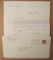 L.S 1965 Jean DELAY Psychiatre Neurologue Médecin Ecrivain Académicien - Au Docteur Didier - Lettre Autographe BAYONNE - Autographes
