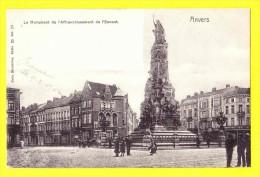 * Antwerpen - Anvers - Antwerp * (Nels, Série 25, Nr 37) Monument De L'affranchissement De L'Escaut, Nuptune, TOP - Antwerpen