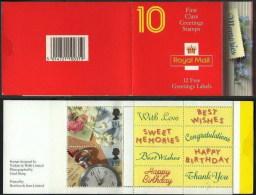 Gran Bretaña Carné 1596 ** 10 Sellos De 1st. 1992 - Carnets