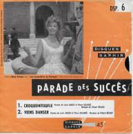 Vinyle Souple 45t. Monoface *croquemitoufle*parade Des Succés 6 - Strumentali