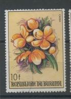 1986  Fleur  Dépareillée  Ø   10F - 1980-89: Oblitérés