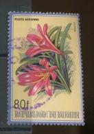 1986  Fleur  Dépareillée  Ø   80 Francs - 1980-89: Oblitérés