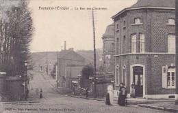 FONTAINE-L´EVEQUE : La Rue Des Clouteries - Fontaine-l'Evêque