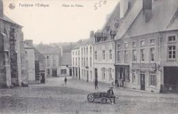 FONTAINE-L´EVEQUE : Place Du Préau - Fontaine-l'Evêque