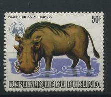 1983  WWF  50F   Phacochère   Dépareillé Ø - 1980-89: Oblitérés