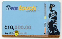 GHANA Prepayé C 10 000 ONE TOUCH AIDS - Ghana