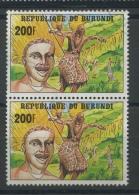 1992 Paire Du 200F  Danse Dépareillé Ø Légère - Burundi