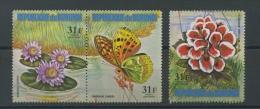 1973  Fleur Et Papillon   31F Dépareillés Avion  ** - 1970-79: Neufs
