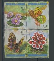 1973  Fleur Et Papillon   31 F Dépareillés Avion  ** - 1970-79: Neufs