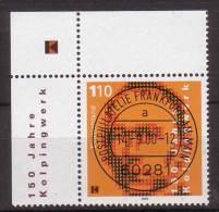 BRD , 2000 , Mi.Nr. 2135 O Eckrand Ersttagsstempel - BRD