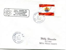 Polynésie - Cachet Commémoratif - Année Du Développement économique De La Polynésie  - Avril 2004 - R 2191 - French Polynesia
