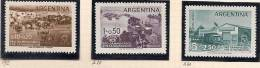 ARGENTINA - 1958 - DAMNIFICADOS POR LA INUNDACION - # 592+ A58/A59 - MINT (NH) - Unclassified