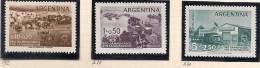ARGENTINA - 1958 - DAMNIFICADOS POR LA INUNDACION - # 592+ A58/A59 - MINT (NH) - Argentina