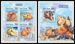 GUINEA BISSAU 2013 - Shells - YT 5197-5200 + BF942; CV = 28 € - Schelpen