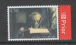 TIMBRE NEUF DE BELGIQUE - LITTERATURE FANTASTIQUE : JEAN RAY/JOHN FLANDERS N° Y&T 3313 - Writers
