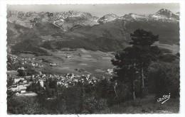VILLARD DE LANS, VUE GENERALE, A DROITE, LA MOUCHEROLLE - Isère 38 - Circulé 1952 - Villard-de-Lans