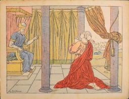 HISTOIRE SAINTE - Série IX - N° 90 - Naissance De Samuel - Illustrée Par : G. Le Doux -  En Bon Etat - - Images Religieuses