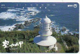 Phare Lightouse Mer  Télécarte Phonecard  Phonecarte Karte (406) - Phares